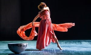 'She takes you on a spiritual journey' … Viviana Durante performs Five Brahms Waltzes in the Manner of Isadora Duncan.