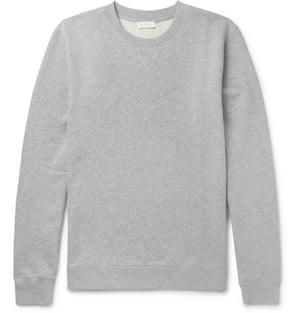 Grey £95, Sunspel, mrporter.com