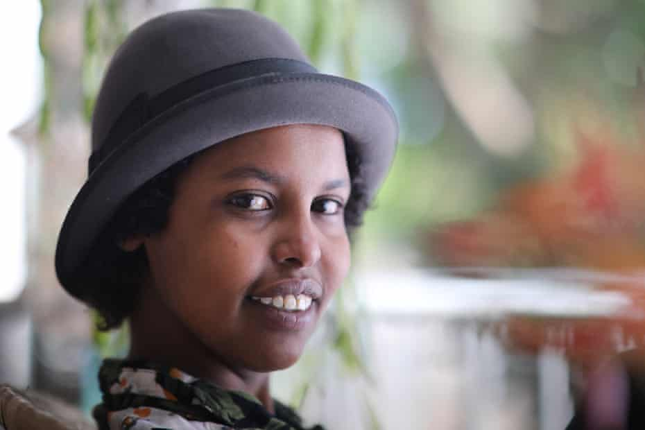 Somalian born Hani was banned from going to school by Al Shabbab.