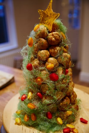Tamal Ray S Great Christmas Baking Recipes From Croquembouche To Jam Tarts Food The Guardian