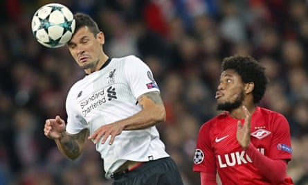 Dejan Lovren has been suffering from a back injury as well as having trouble with an achilles tendon.