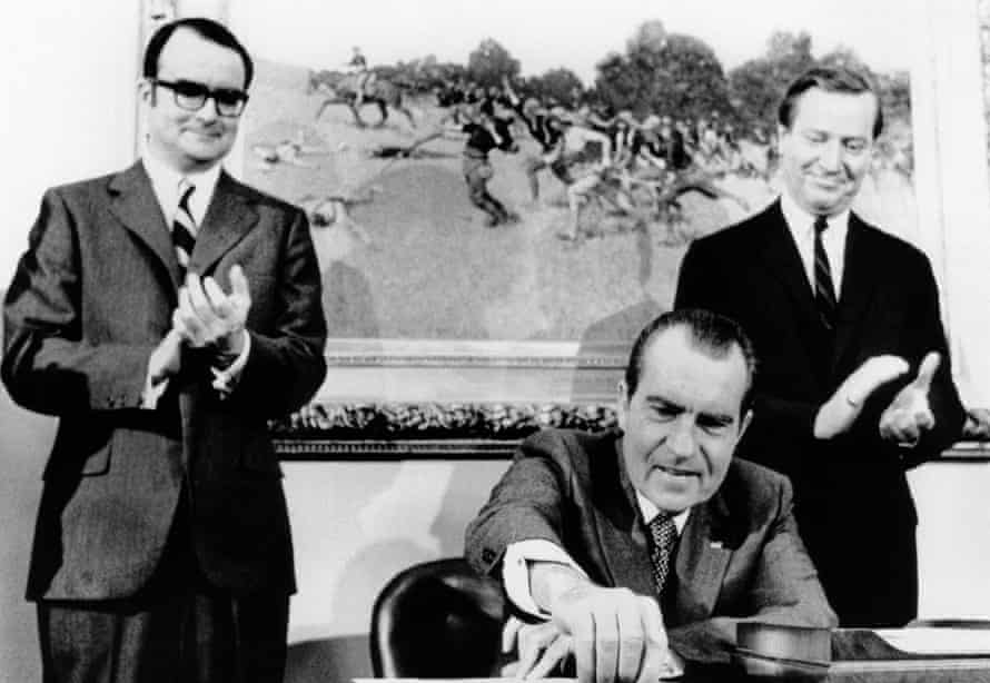 William Ruckelshaus and Nixon