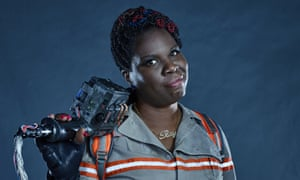 Twitter storm ... Ghostbusters' Leslie Jones.