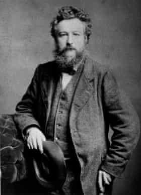 William Morris, circa 1875.
