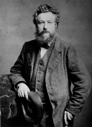 William Morris, circa 1875.