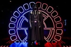 An original Darth Vader costume.