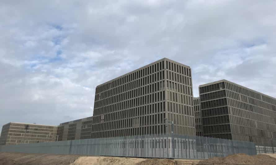 The BND's new headquarters in Berlin