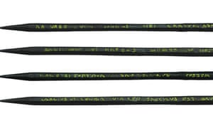 The inscription on the Roman stylus