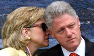 Beneath the clucked tongues, there's not much being hurled the Clintons' way that is all that terrible.