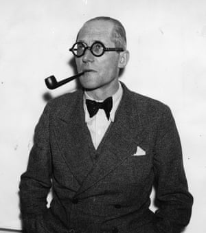 Swiss-French architect Le Corbusier