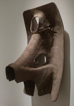 Elephant Mask, from Civilization of Llhuros, 1972, by Norman Daly.