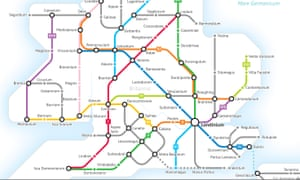London Great Britain Map.Bored Of London Centric Britain Blame The Romans And Their Roads