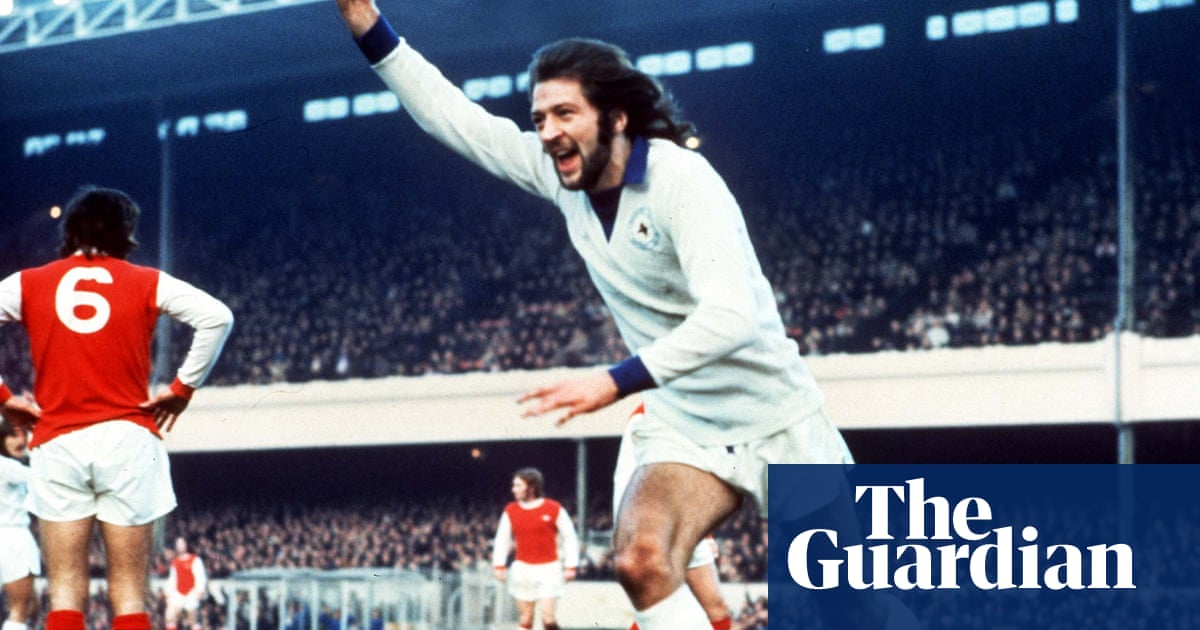 Entertainment was all for Frank Worthington – on the pitch and off it
