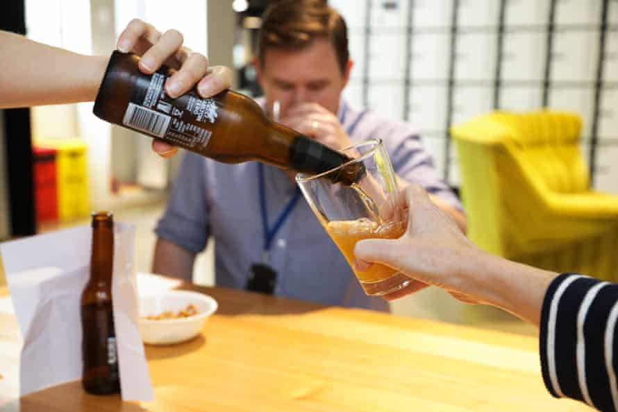 Guardian staff taste tested non-alcoholic beer