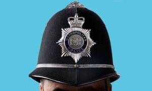 A policeman's helmet