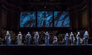 Opera North's Die Walküre at Leeds Town Hall. Photograph: Clive Barda/Arena PAL