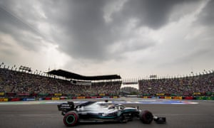 Lewis Hamilton is hoping to clinch the title at Mexico City's imposing circuit on Sunday.