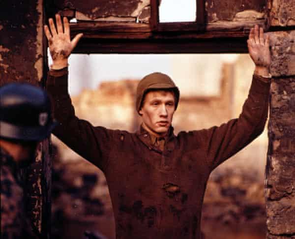 Michael Sacks as Billy Pilgrim in the 1972 film adaptation of Slaughterhouse-Five.