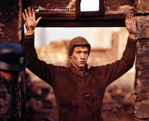 Michael Sacks as Billy Pilgrim in the 1972 film adaptation of Slaughterhouse-Five.