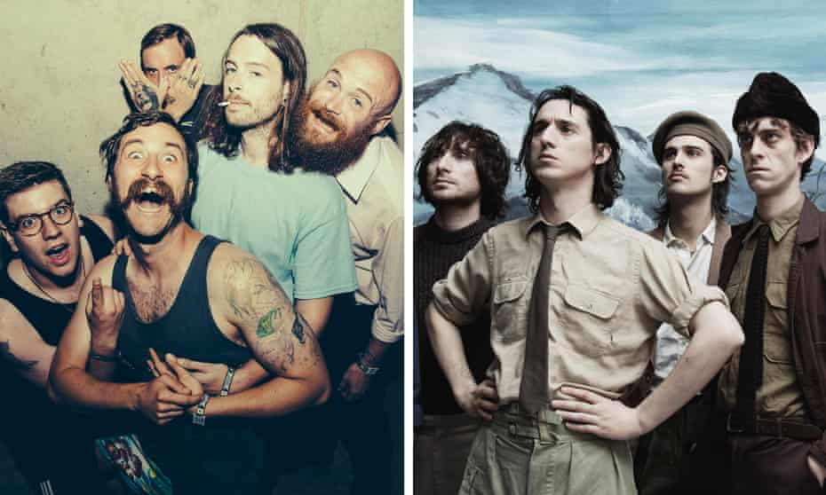 Sententious pedantry or pretentious and sedentary? Idles, left, and Fat White Family.