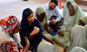 Malala in Maiduguri