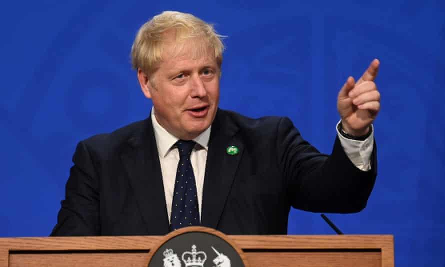 The prime minister, Boris Johnson