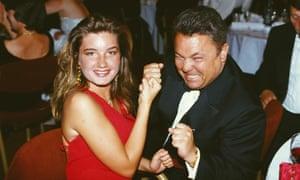 Brady with David Sullivan, 1993.