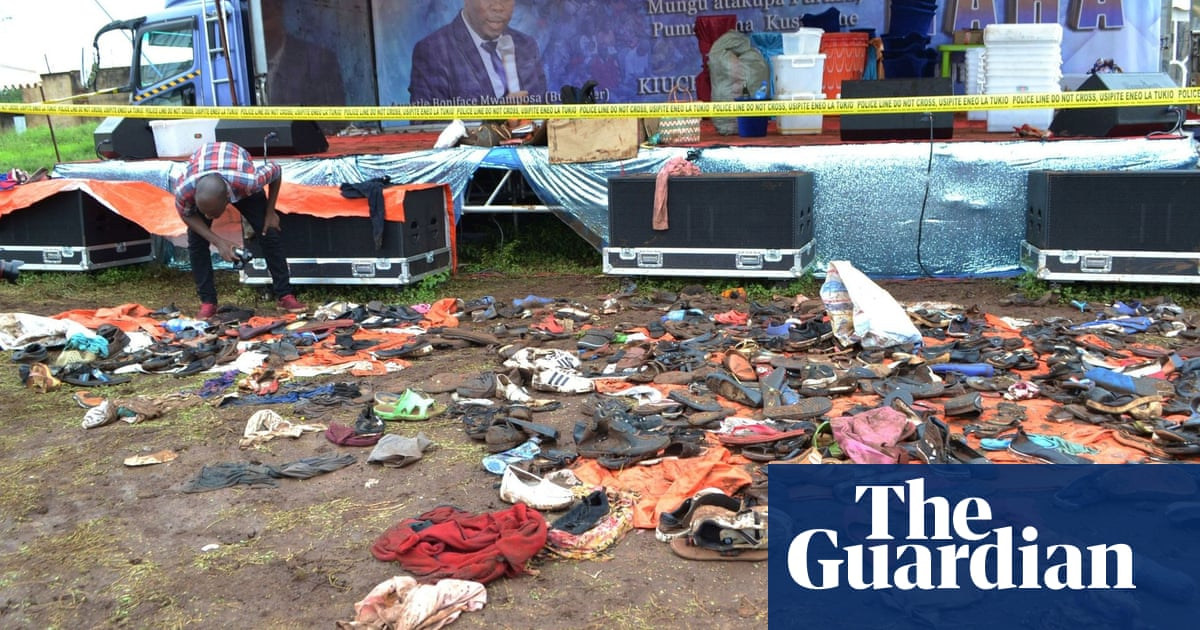 Stampede crushes 45 people to death in Tanzania as people mourn president
