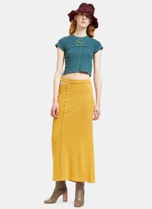 Skirt, £150 by Eckhaus Latta from ln-cc.com