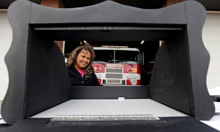 The baby box is a heated, padded newborn incubator with an internal alarm alerts firefighters.