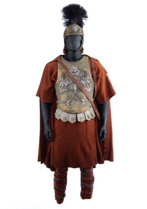 Maximus' (Russell Crowe) screen-matched general armour from Ridley Scott's Academy Award-winning historical drama Gladiator. Estimate: £20,000 - £30,000