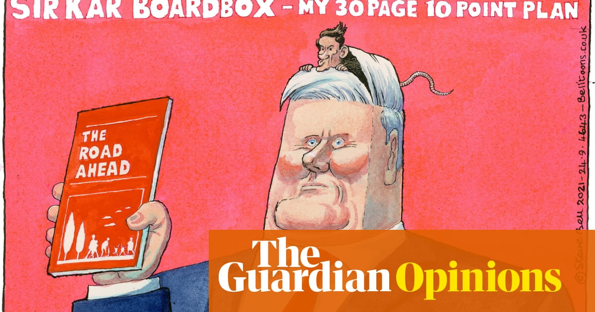 Steve Bell on Keir Starmer's vision for Labour – cartoon