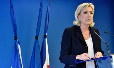 Marine Le Pen of the French far-right Front National calls for a declaration of war on extremists after the Nice truck attack.