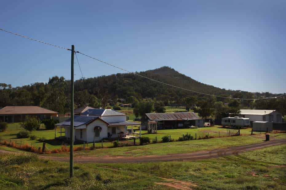 Manilla in rural NSW.