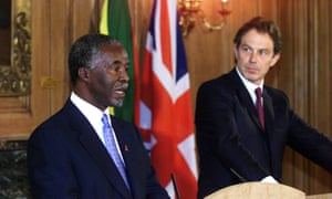 President Thabo Mbeki urged Tony Blair not to invade Iraq but the British prime minister went ahead anyway.