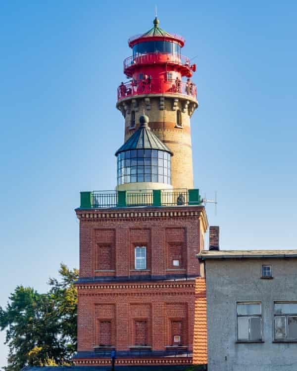 Rügen's Kap Arkona lighthouse.