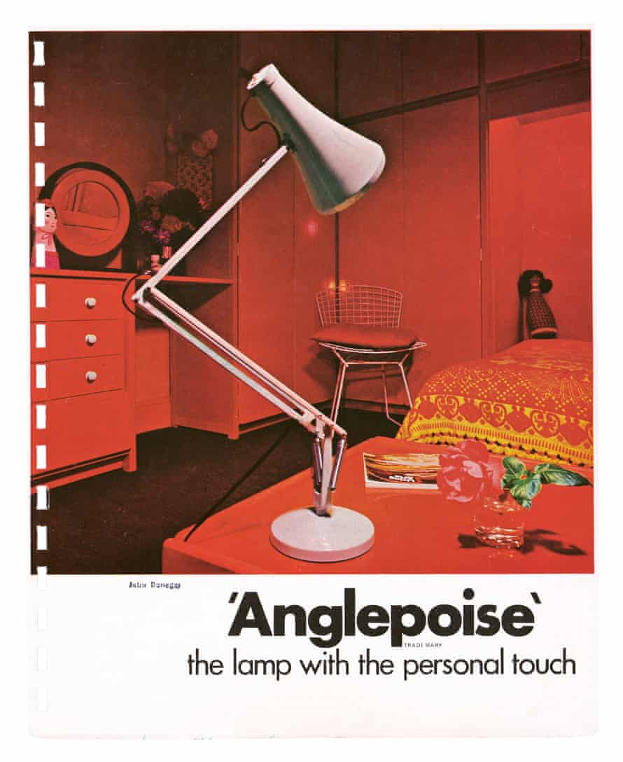 Artwork from a 1980s Anglepoise catalogue featured in new book Spring Light