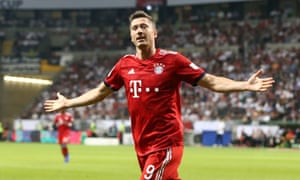 Robert Lewandowski's goals will be vital to Bayern's hopes of another Champions League title.