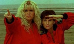 French and Saunders do Baywatch in 1996