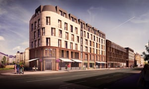 The proposed development for Leith Walk.