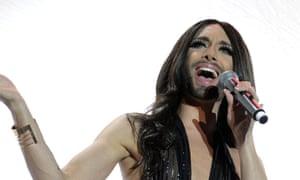 Conchita Wurst hosted last year's Eurovision.