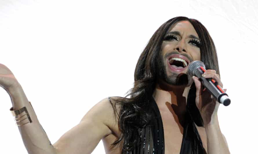 Conchita Wurst hosted last year's Eurovision.