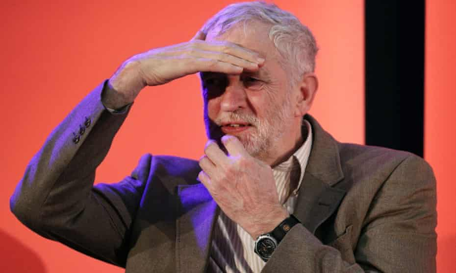 Maybe Corbyn cannot see beyond the white cliffs of Dover.