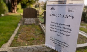 A limit of 12 mourners has been put in place at the chapels in BRighton & Hove