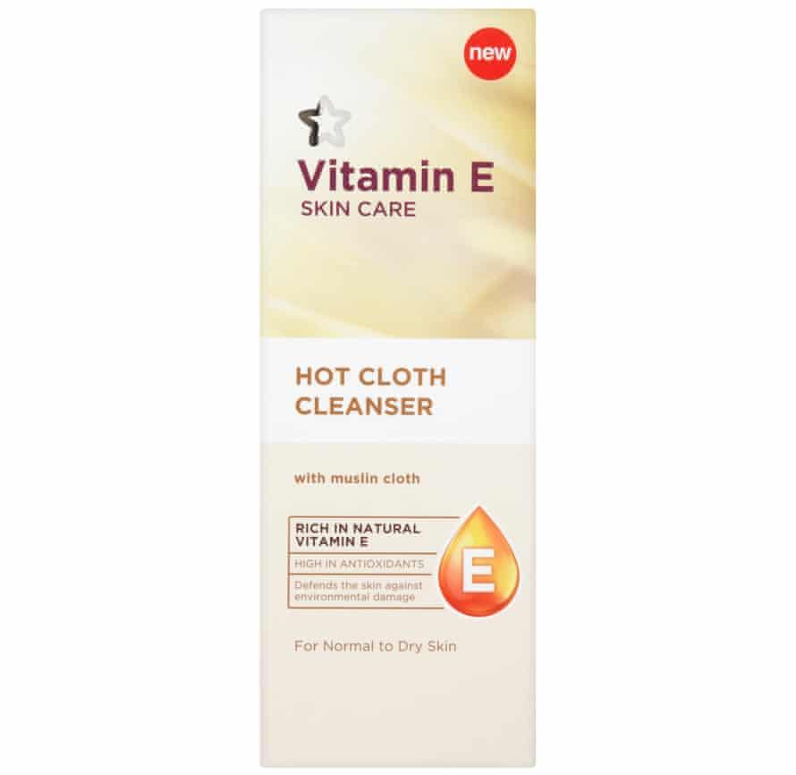 Superdrug Vitamin E hot cloth cleanser