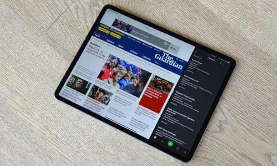 The 12.9in iPad Pro is terrific, but also very expensive.