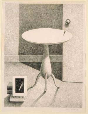 """Planets,"" 1937. Lithograph."
