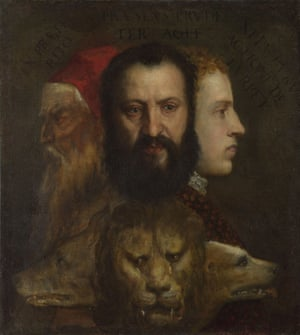 An Allegory of Prudence, 1550- 65, by Titian