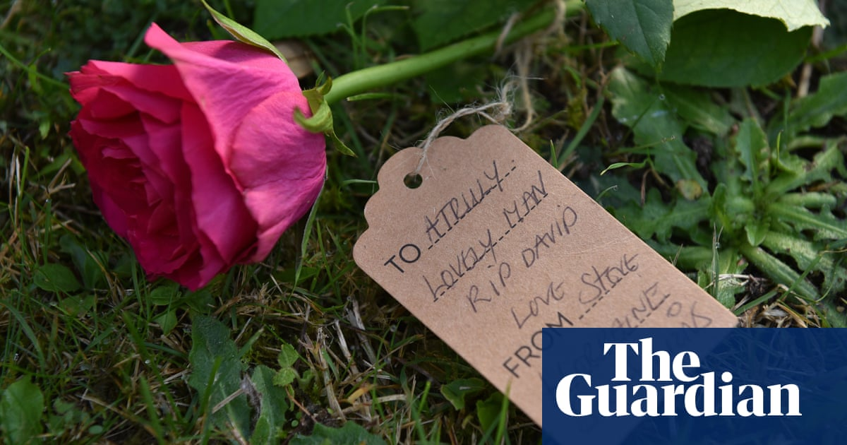 Tributes to David Amess – in pictures - the guardian