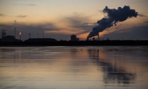 Tata steelworks in Port Talbot, south Wales